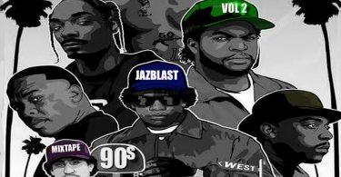 Dj Jazblast - Foreign Old 90's Nonstop Songs Mixtape Vol. 2